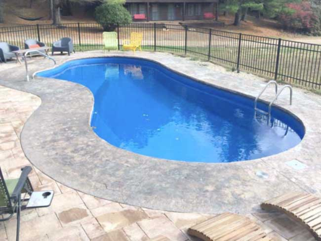 fiberglass pool - JNR Pools